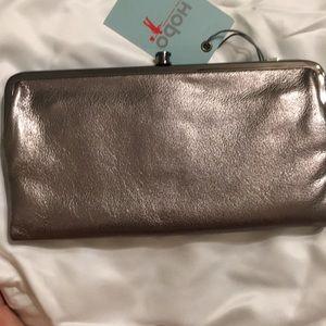 Hobo International Lauren Wallet In Hematite